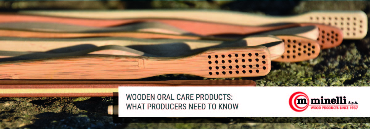 wooden oral care products