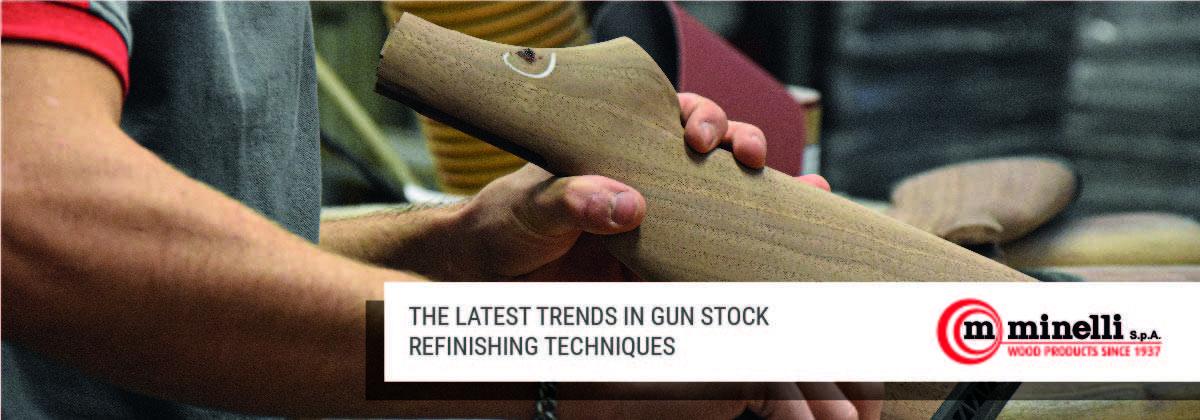 Gun stock refinishing