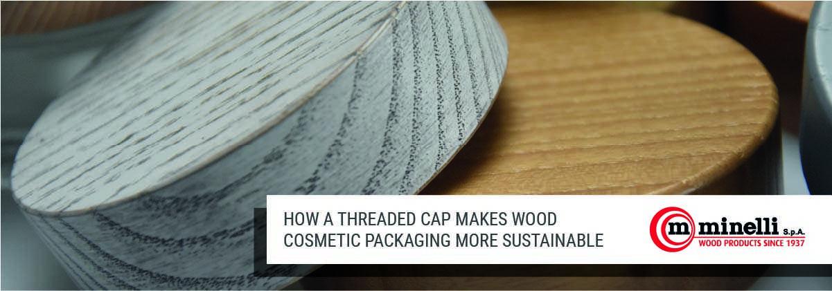 wood cosmetic packaging