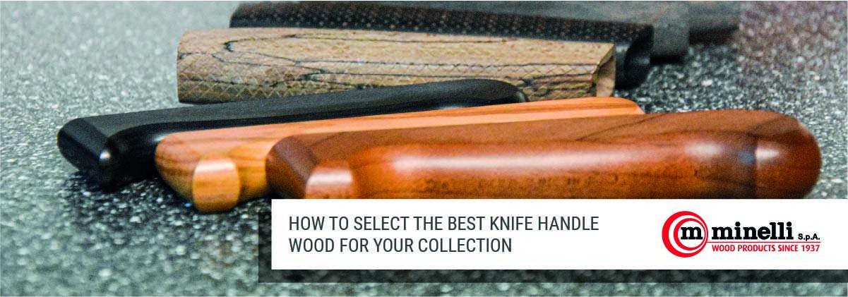 Knife handle wood
