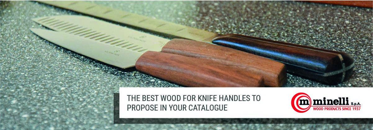 best wood for knife handles
